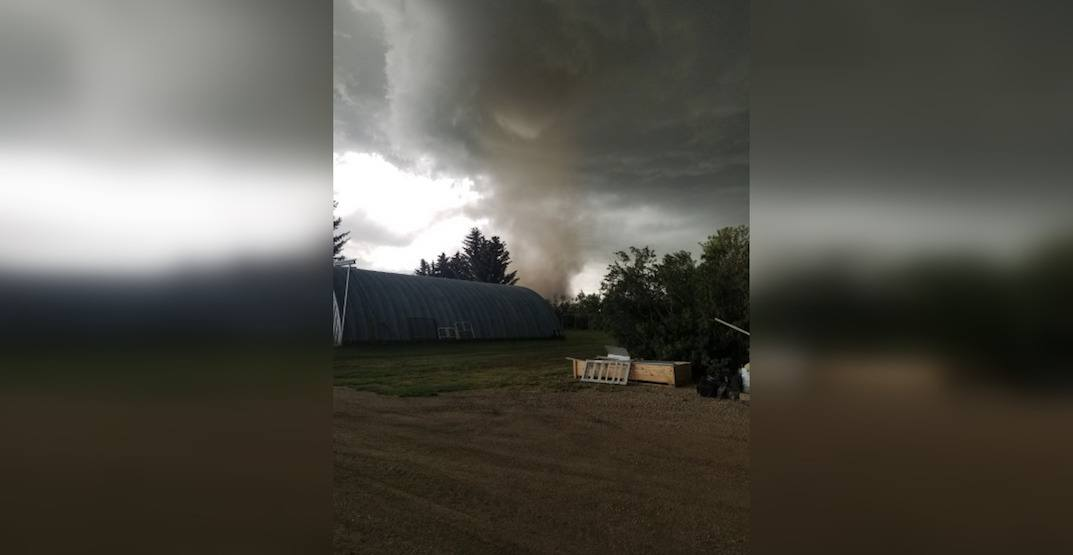 13th confirmed tornado touches down in Alberta (PHOTOS)