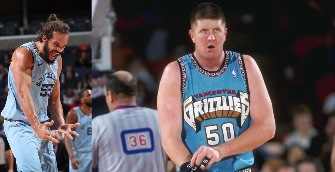 size 40 df7c2 c0d68 Memphis to wear Vancouver Grizzlies throwback jerseys ...