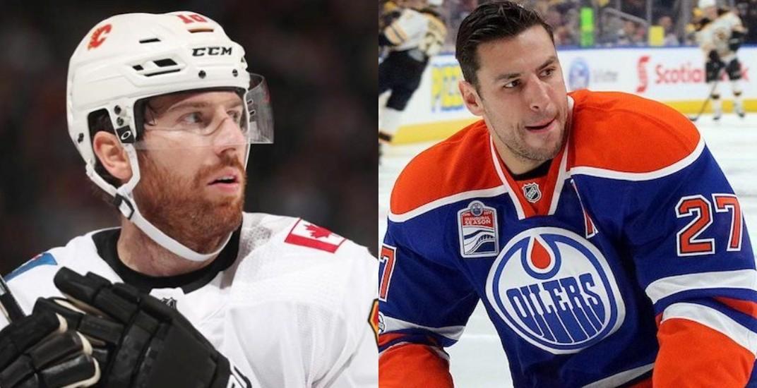 Calgary Flames trade James Neal to Edmonton Oilers for Milan Lucic