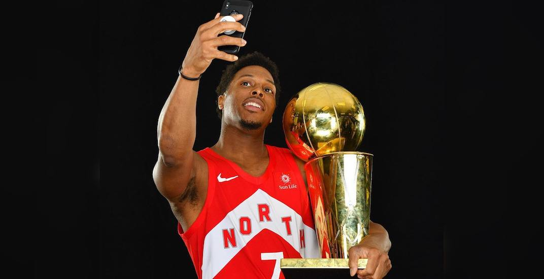 You can get a photo with the NBA Championship Trophy in Vancouver on July 23
