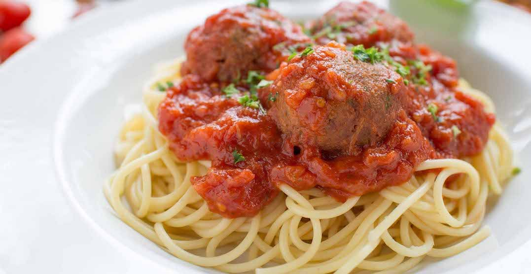 Beyond Meatballs now offered at The Old Spaghetti Factory