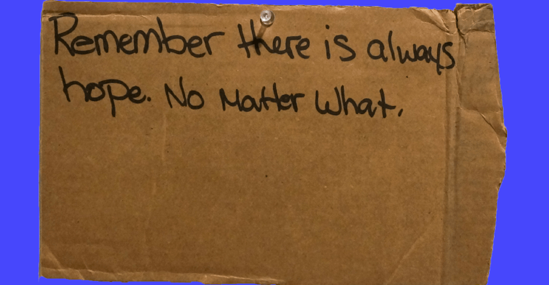 Downtown Eastside residents speak their truth at The Cardboard Project
