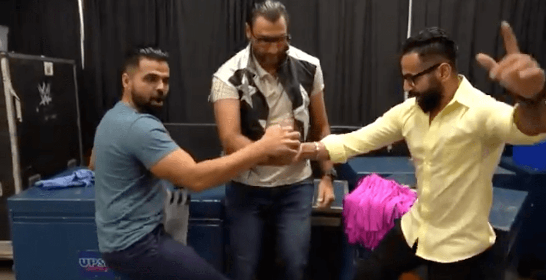 Luongo goes Bollywood in WWE cameo with Burnaby's Singh Brothers (VIDEO)