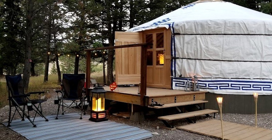 6 gorgeous glamping spots in Alberta to check out this summer (PHOTOS)
