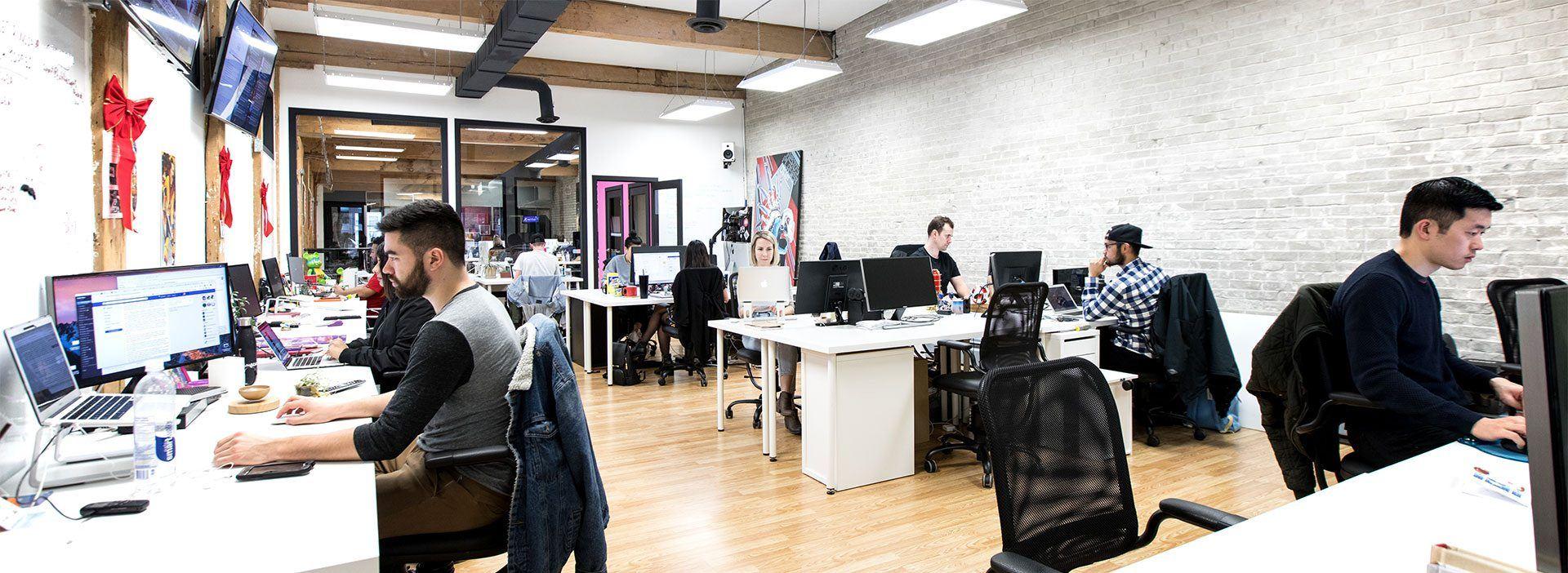Dailyhive staff hard at work