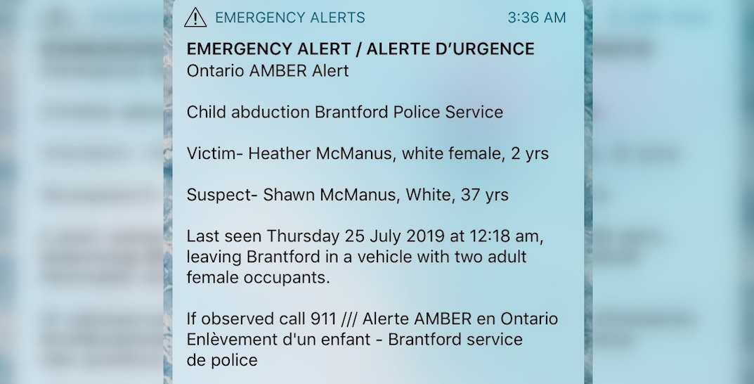 STFU: Ontarians continue to complain about receiving Amber Alerts