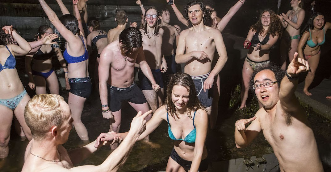 Take your pants off and get your groove on with Vancouver's Undie Run
