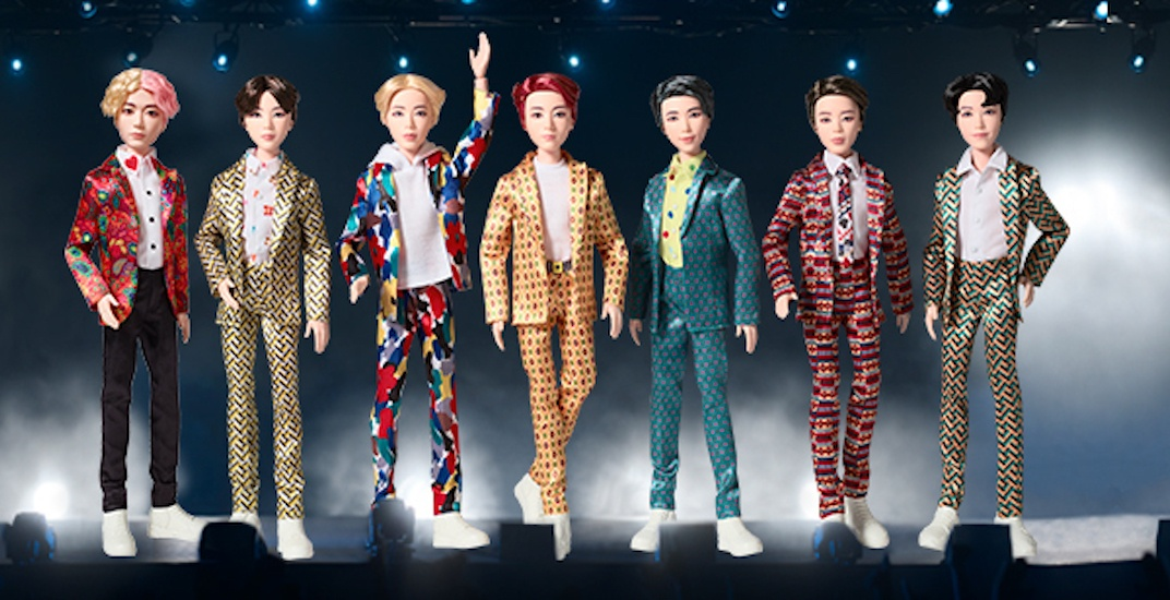 Bts Dolls Will Be Available At Toys R Us Stores In Canada This Weekend Curated