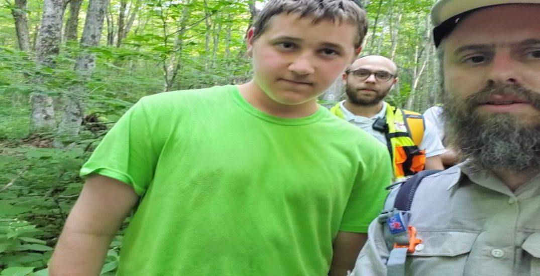 """Missing Montreal boy found safe after """"nearly 24 hours alone"""" in Vermont woods"""