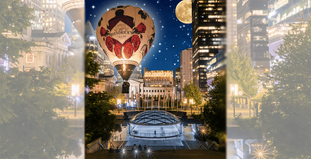 65-foot hot air balloon to fly above Vancouver Art Gallery next weekend