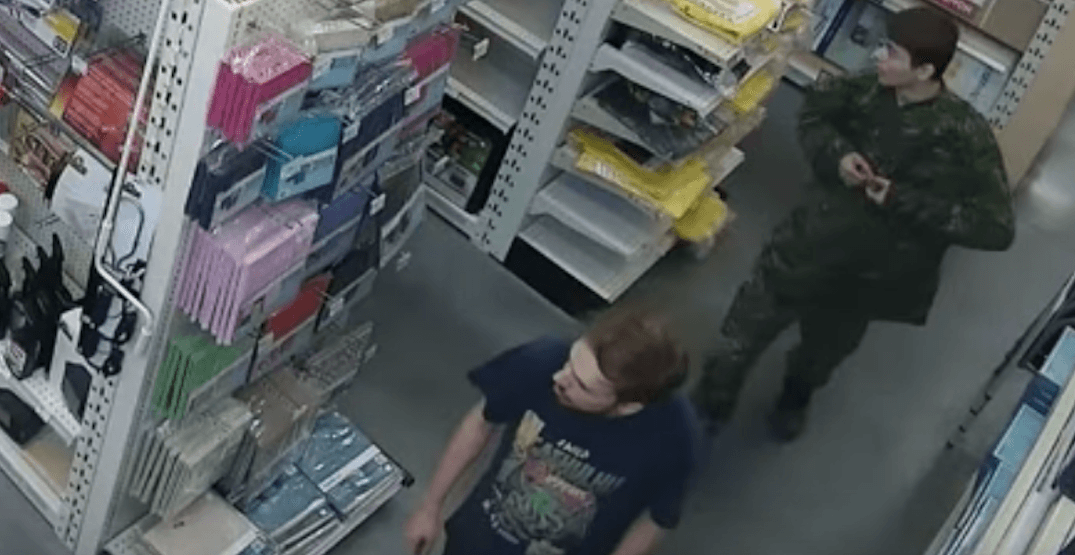 Police release surveillance footage of BC murder suspects (VIDEO)