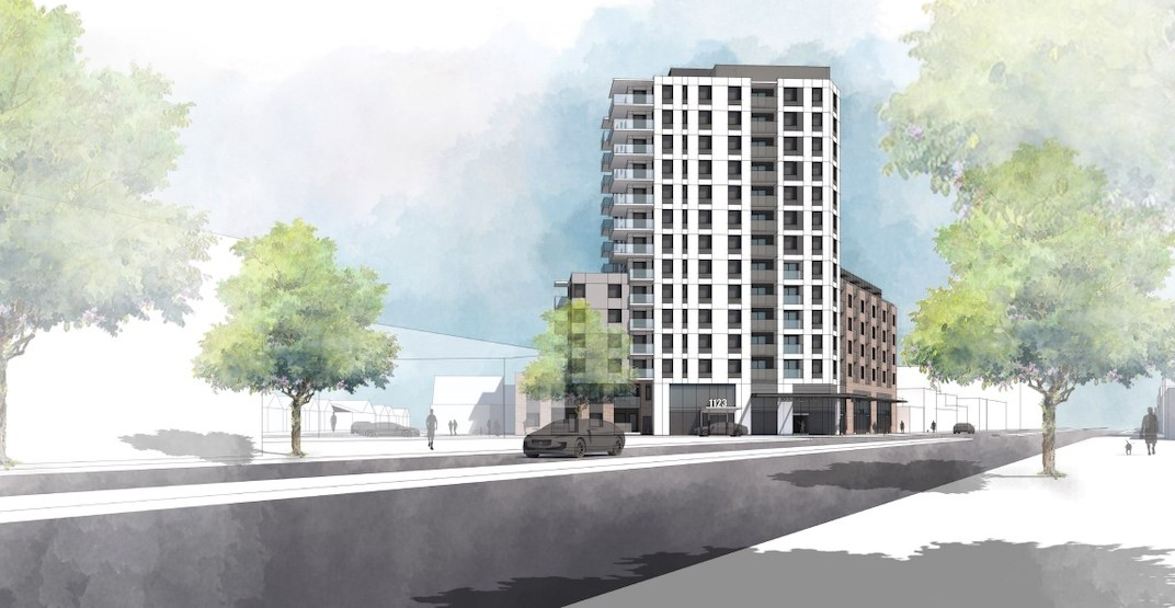 128 rental homes proposed for corner of Kingsway and Glen Drive