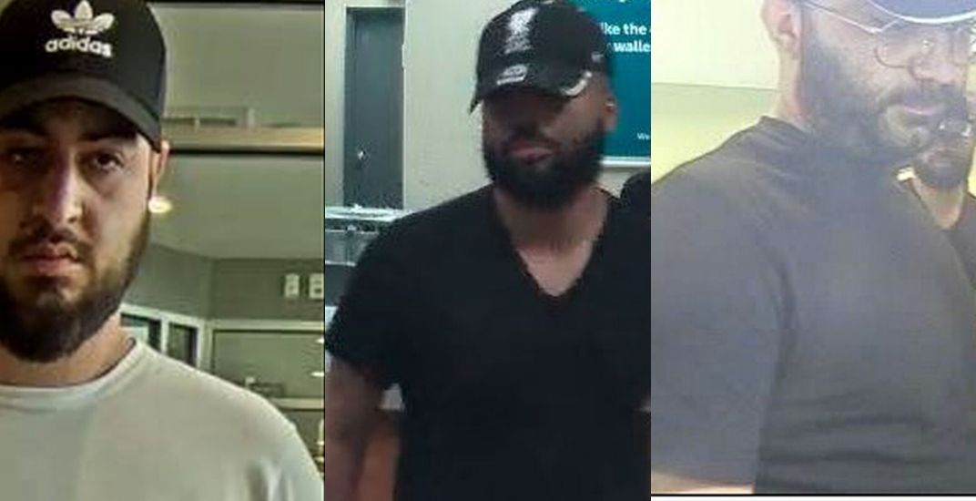 Police looking for 3 men connected to alleged pizza delivery scam