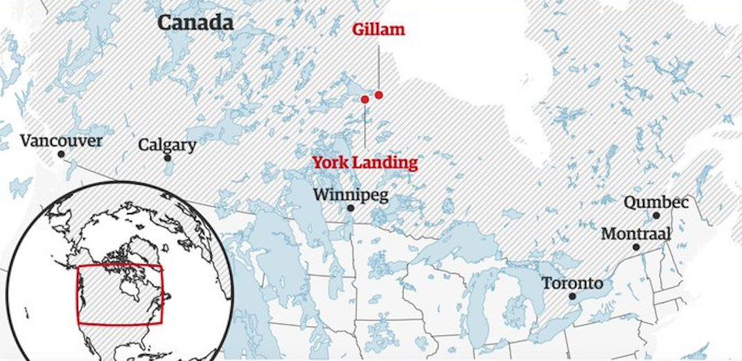 A Map Of Canada With Cities.British Newspaper Completely Botches The Spelling Of Two Canadian