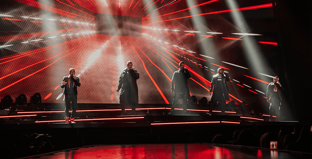 The Backstreet Boys Vancouver 2019