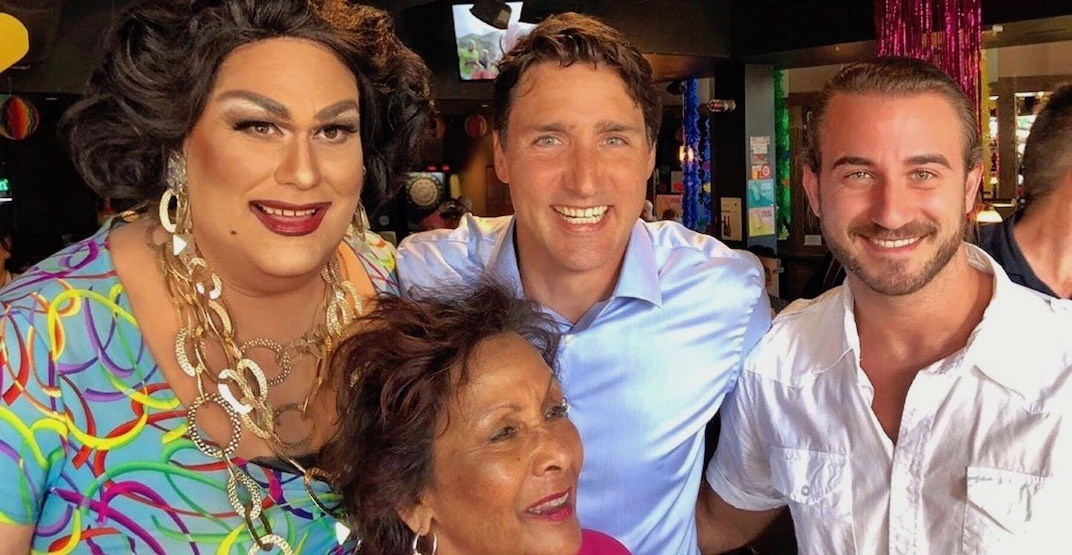 Justin Trudeau spotted at 'The Fountainhead Pub' in Vancouver