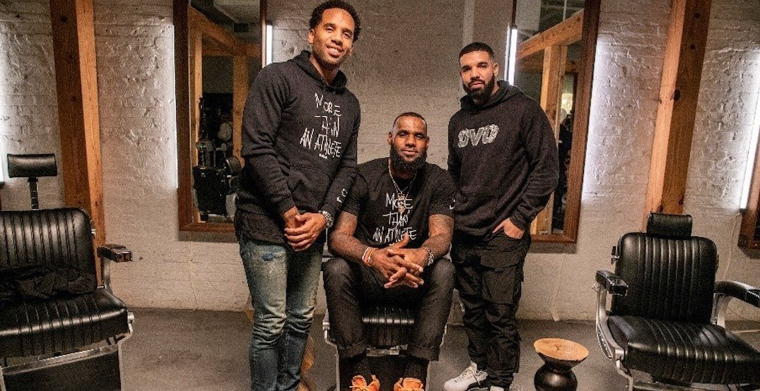 LeBron James partners with Drake to bring his digital platform to Canada
