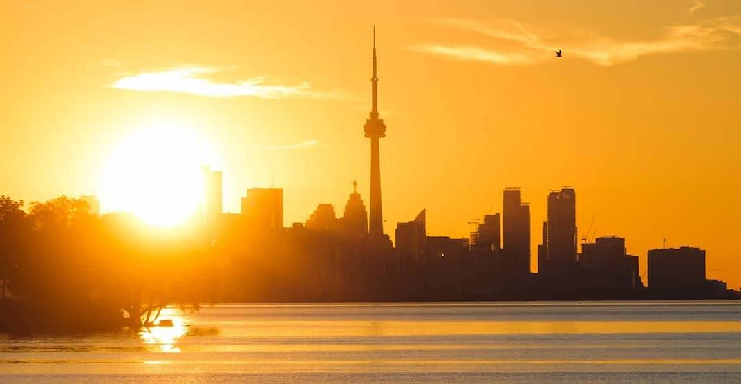 It's expected to reach close to 30°C in Toronto this weekend