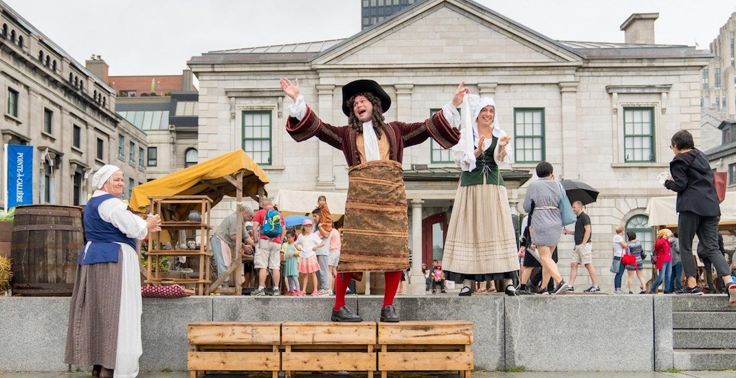 A FREE 18th-Century public market is coming to Old Montreal on August 24 and 25
