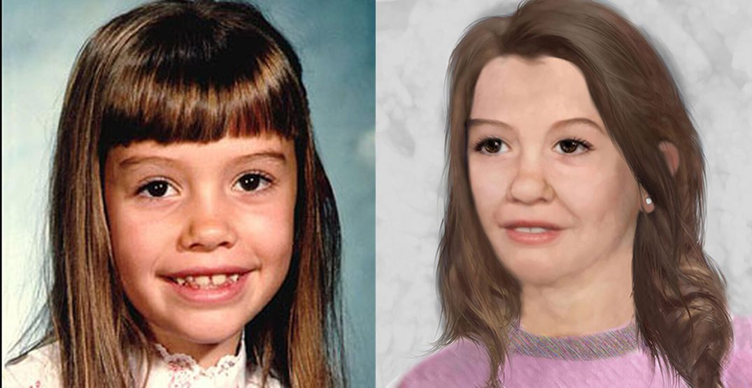 Police release age-enhanced image of girl who went missing 34 years ago