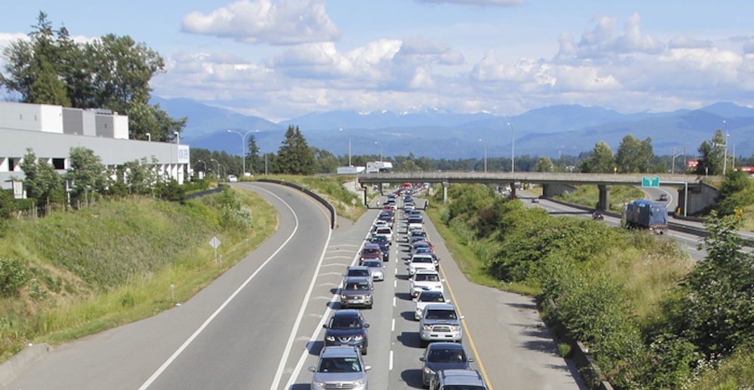 Fraser Valley Regional District wants Highway 1 widened from Langley to Chilliwack
