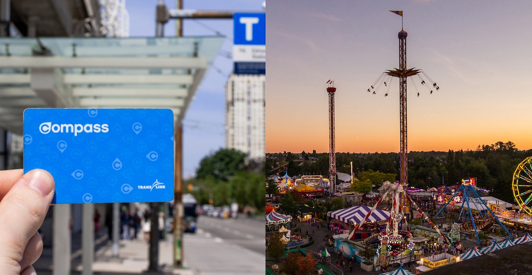 Get 2-for-1 adult admission into The Fair at the PNE with a Compass Card today
