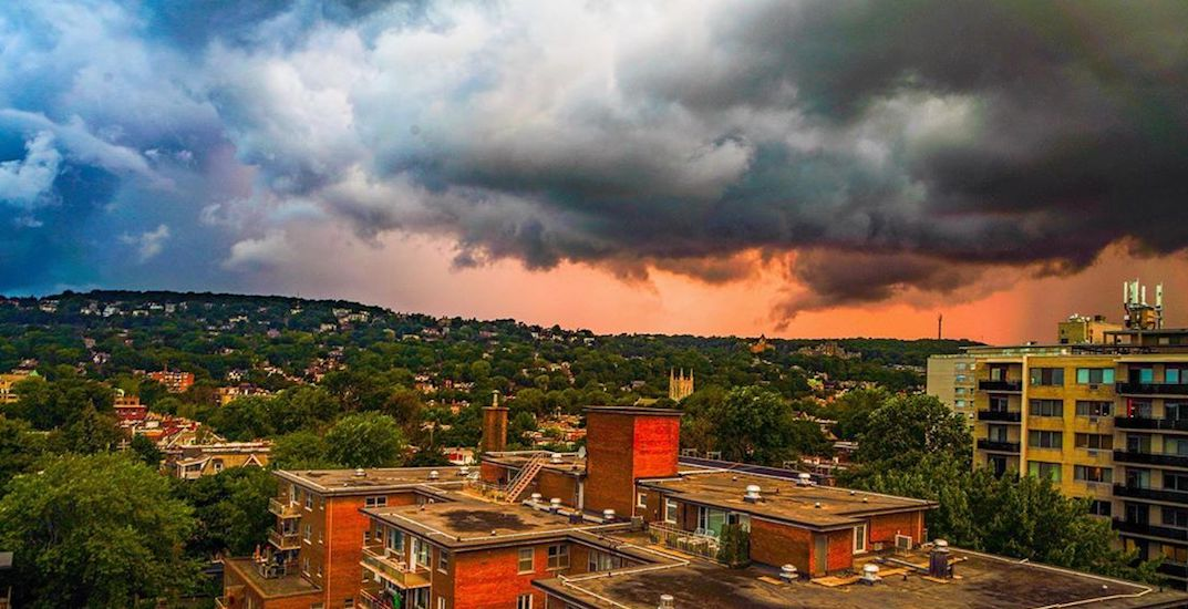 Last night's weather created some ominous skies across Montreal (PHOTOS)