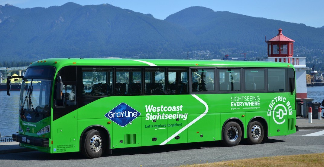 Vancouver tour company acquiring 80 electric-battery vehicle buses