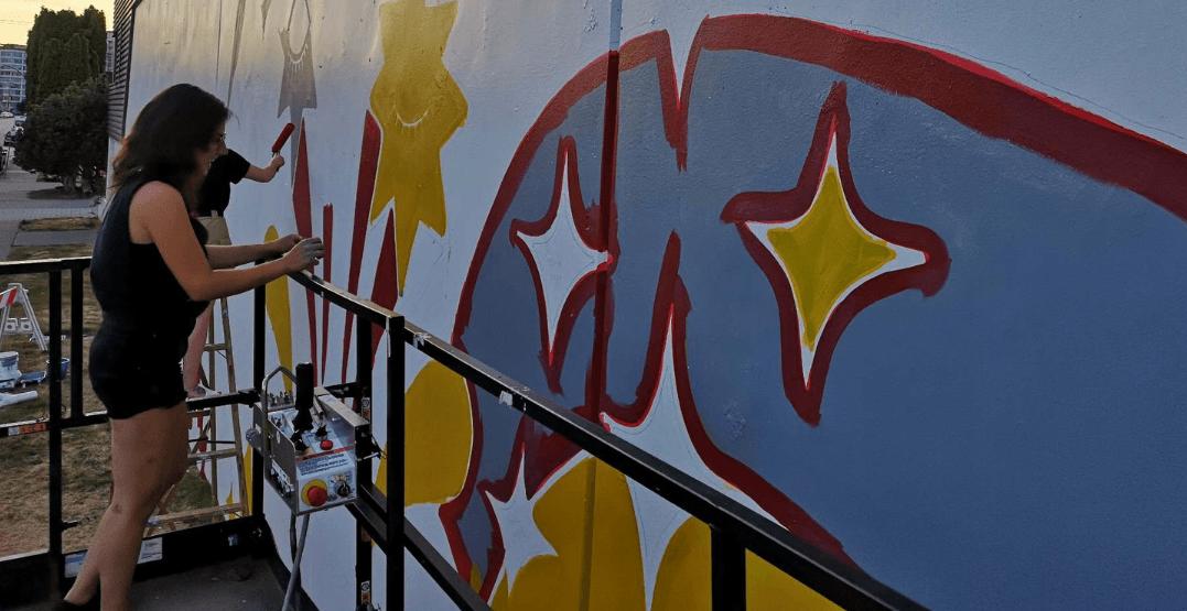 "Local artist views Vancouver Mural Festival as her ""big break"" (PHOTOS)"