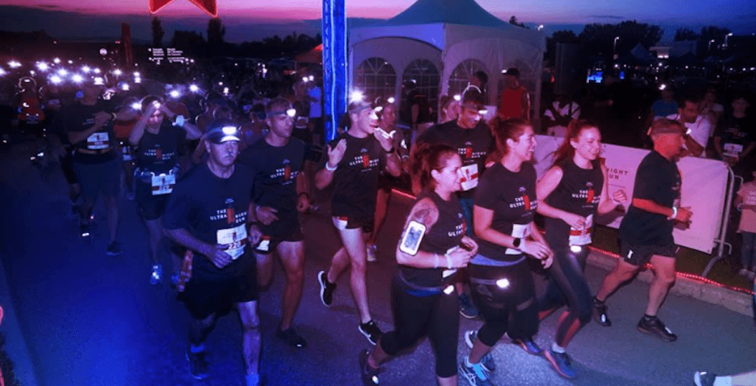 There's a neon-lit ULTRA Night Run happening in Toronto this month