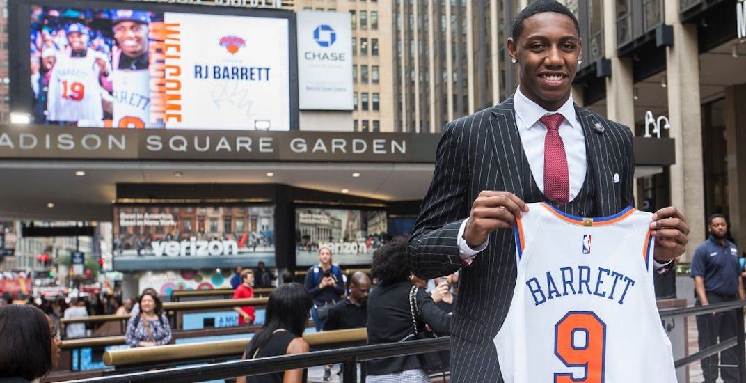 NBA star RJ Barrett donates $100,000 to Mississauga Food Bank