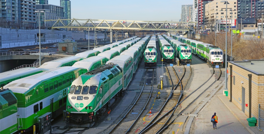 GO Transit to further reduce service as ridership declines by 90%
