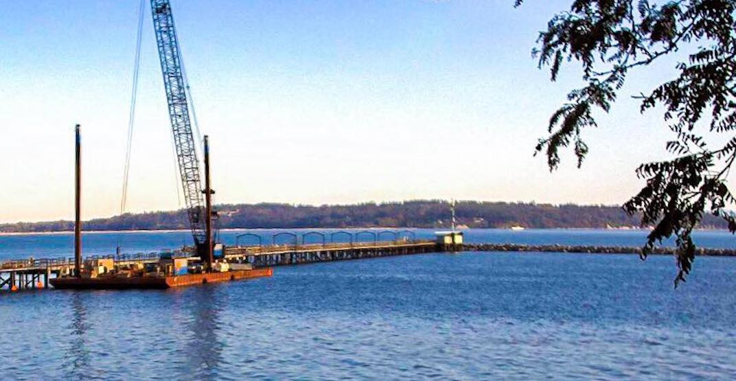 Repaired White Rock Pier to reopen this Labour Day long weekend