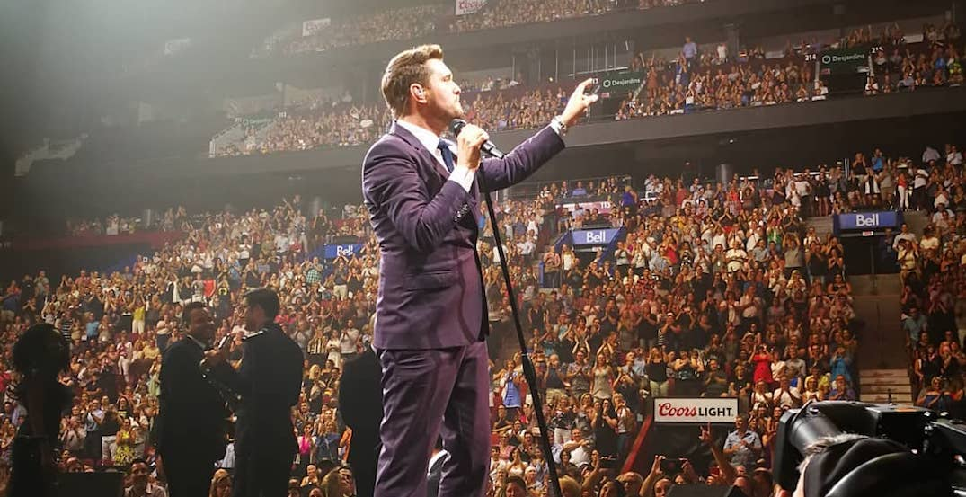 14 shots of Michael Bublé's show at the Bell Centre last night (PHOTOS)