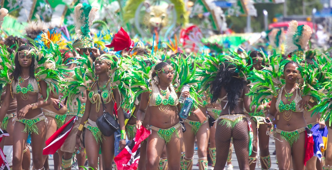 Topless dancers will join the Toronto Caribbean Carnival this weekend