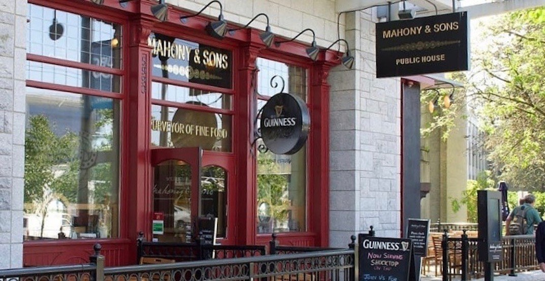 Mahony & Sons has closed this Vancouver location after 14 years of operation