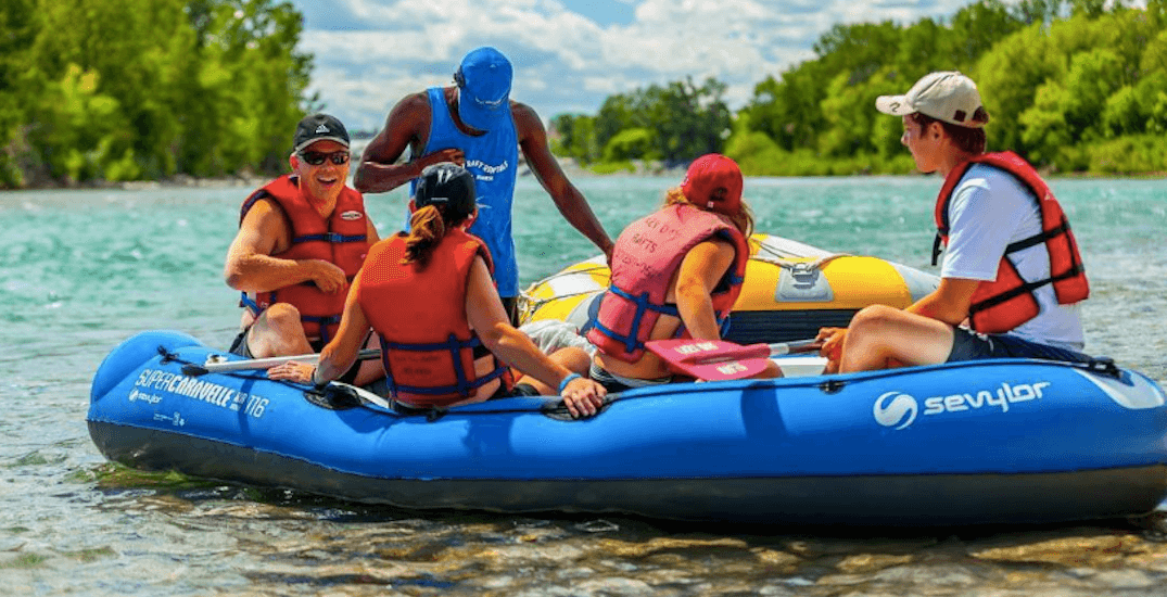 A handy guide to floating the Bow River this summer