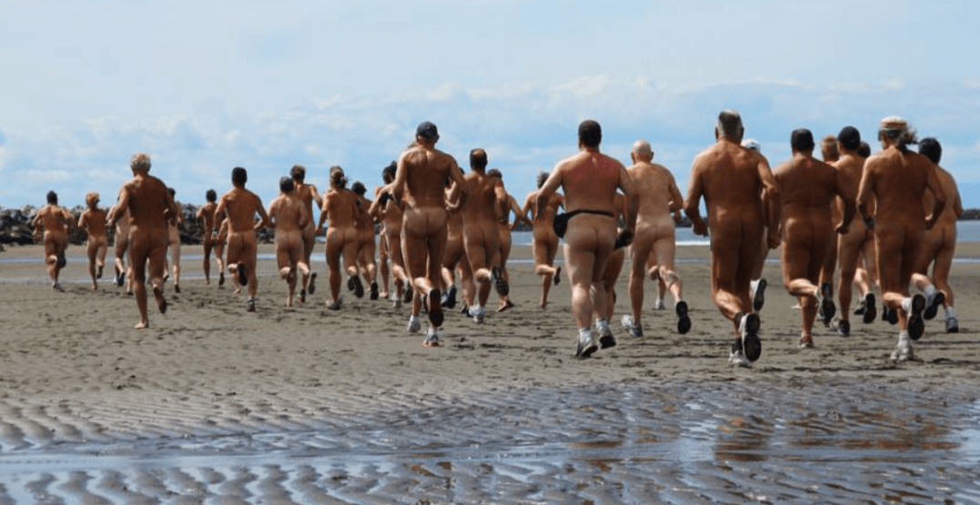 Set your buns free at this bottomless run at Wreck Beach this weekend