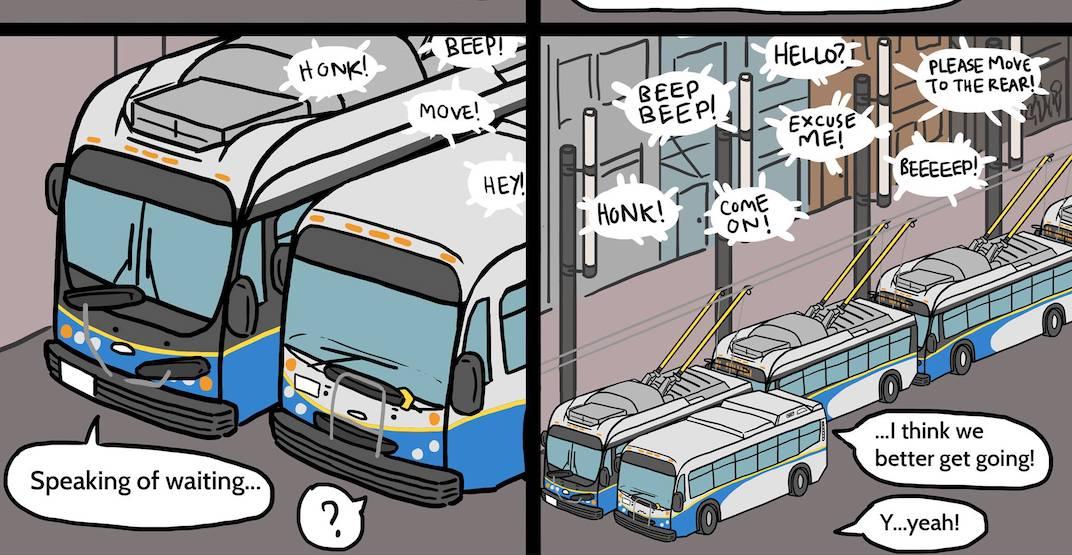 TransLink reimagined: 16 fan comics celebrate Metro Vancouver's transit (IMAGES)