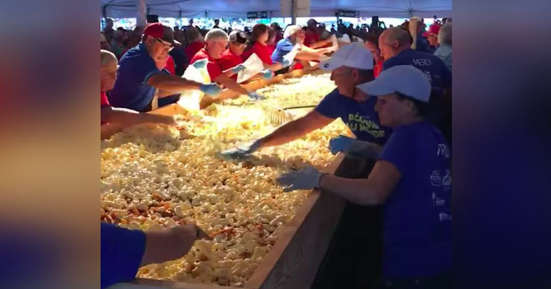 Small Quebec town attempts to make the world's biggest poutine (VIDEO)
