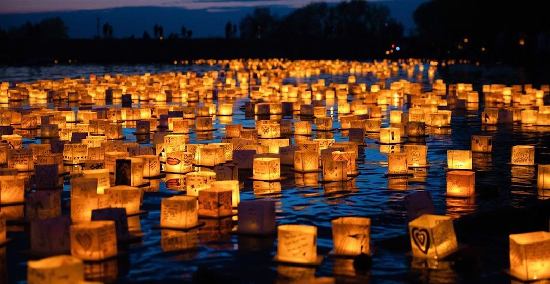A stunning Water Lantern Festival is happening near Toronto this weekend