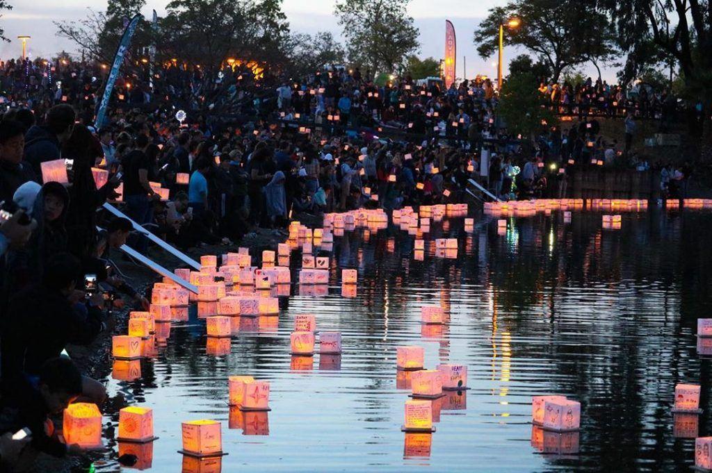 water lantern