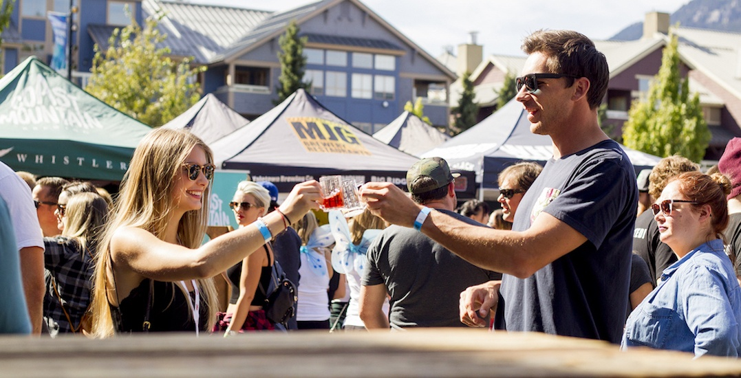 4 reasons you need to head to the Whistler Village Beer Festival