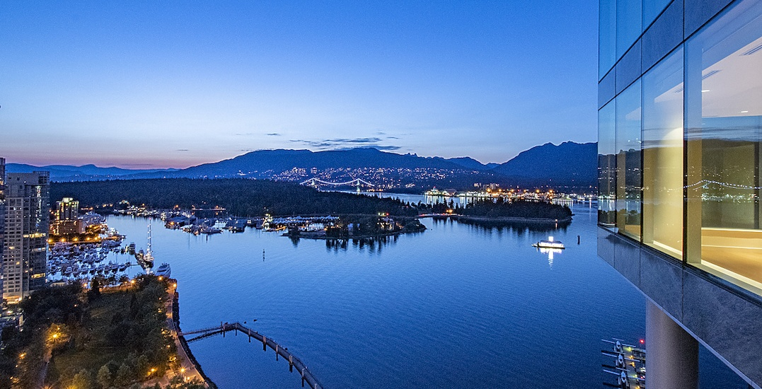 This $38.8M Coal Harbour waterfront home has enviable panoramic views (PHOTOS)