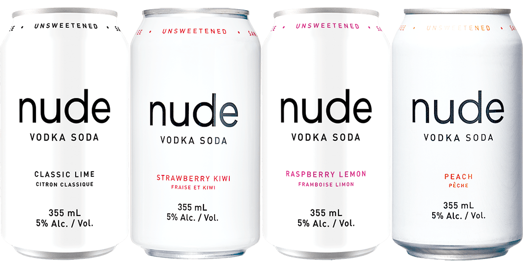 Strawberry Kiwi Vodka Soda - Coldstream Clear Distillery