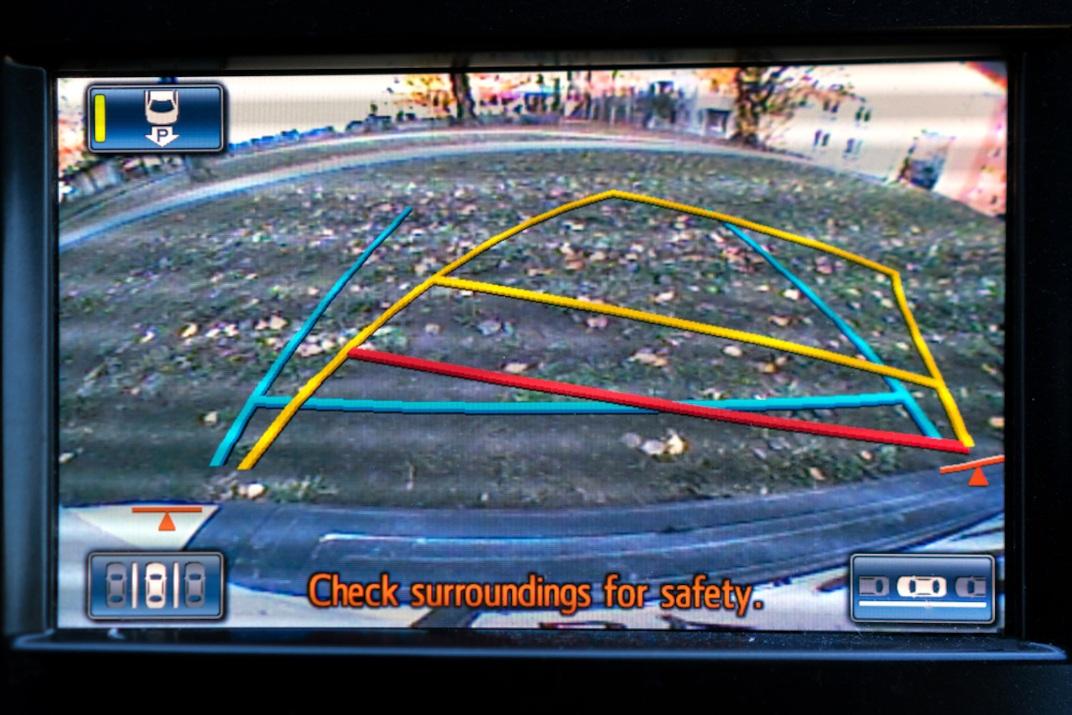 Car rear camera collision avoidance system
