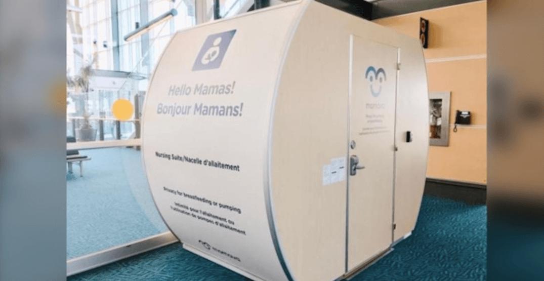 YVR Airport piloting private nursing pod program for parents