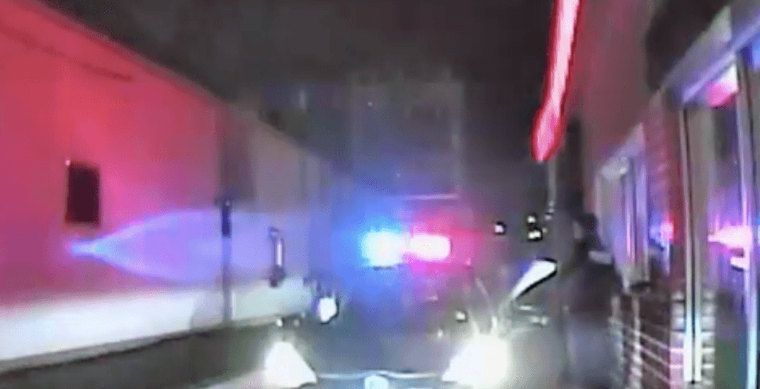 Alleged drunk driver says she wasn't driving at a drive-thru (VIDEO)