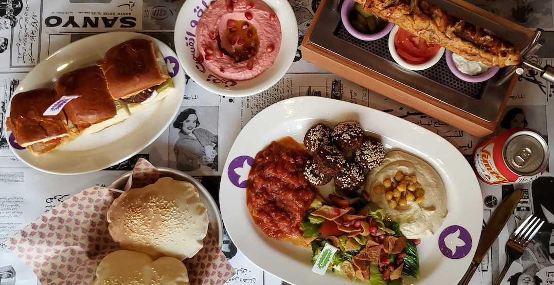 Take a peek inside Queen West's newest mezza restaurant