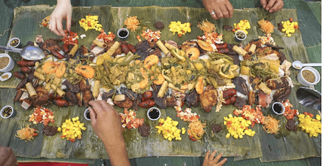 The Bentway is serving up a communal Filipino dinner tonight